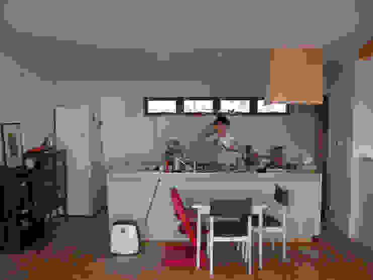 竣工後キッチン モダンな キッチン の 士 モダン