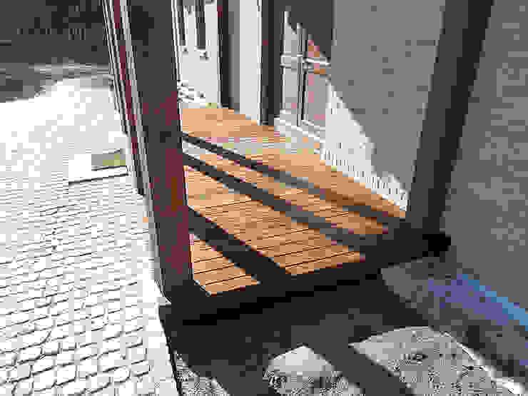 Taras drewniany. Realizacja w Poznaniu. od PHU Bortnowski