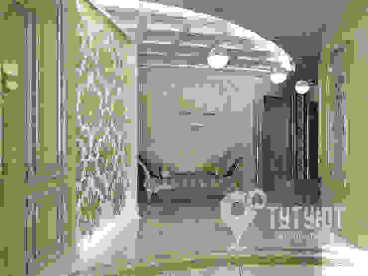 Pasillos, vestíbulos y escaleras de estilo ecléctico de Interior Design Studio Tut Yut Ecléctico