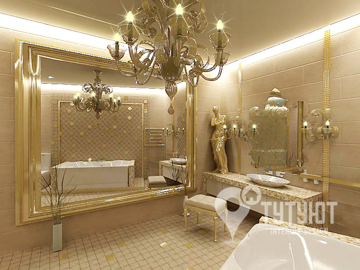 Salle de bain originale par Interior Design Studio Tut Yut Éclectique
