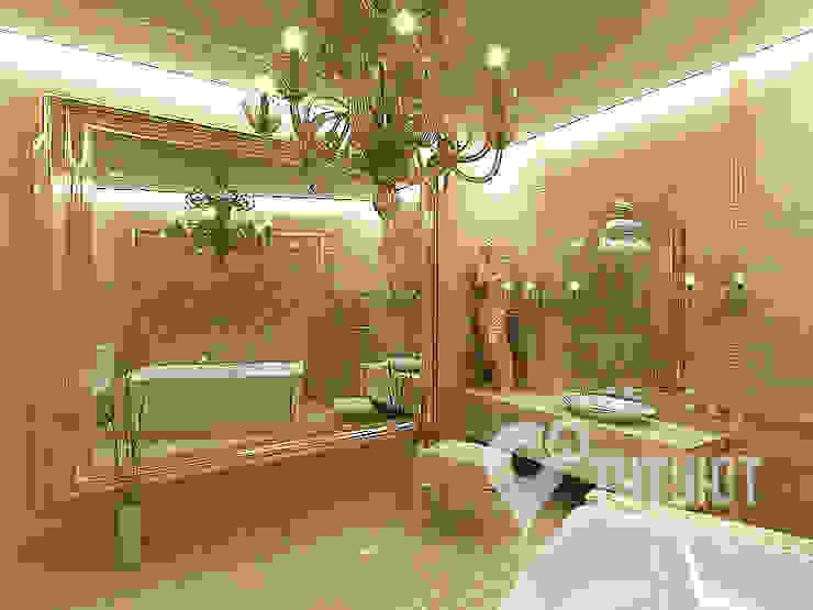 Interior Design Studio Tut Yut Eclectic style bathroom Amber/Gold