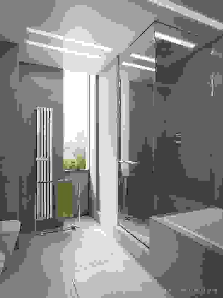 Квартира холостяка Ванная комната в стиле минимализм от Bezmenova Минимализм