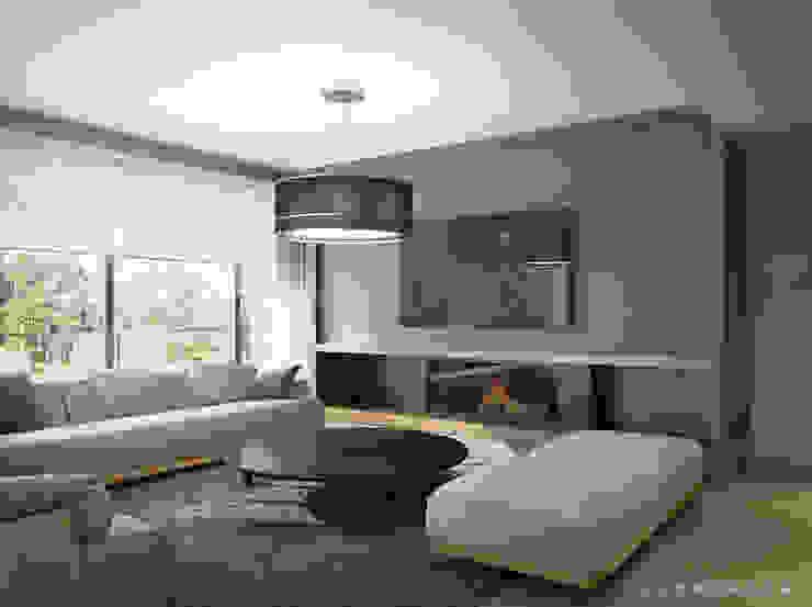 Minimalist living room by Bezmenova Minimalist