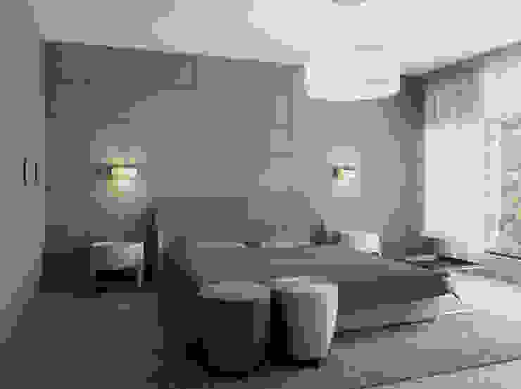 Квартира в Юрмале Спальня в стиле минимализм от Bezmenova Минимализм