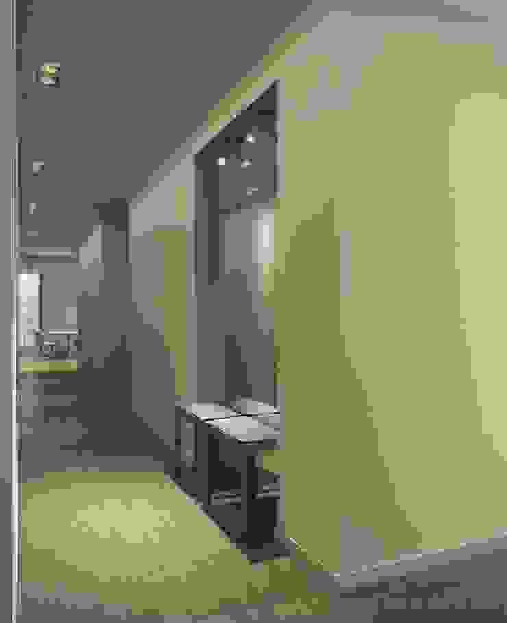 Квартира в Юрмале Коридор, прихожая и лестница в стиле минимализм от Bezmenova Минимализм