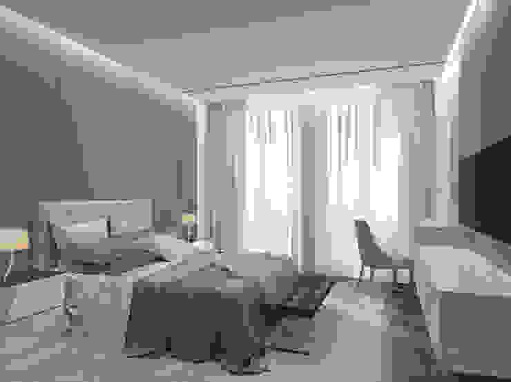 Dormitorios de estilo minimalista de Bezmenova Minimalista