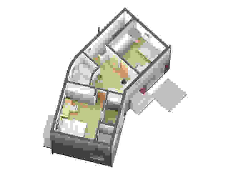 2층평면: IDÉEAA _ 이데아키텍츠의 미니멀리스트 ,미니멀