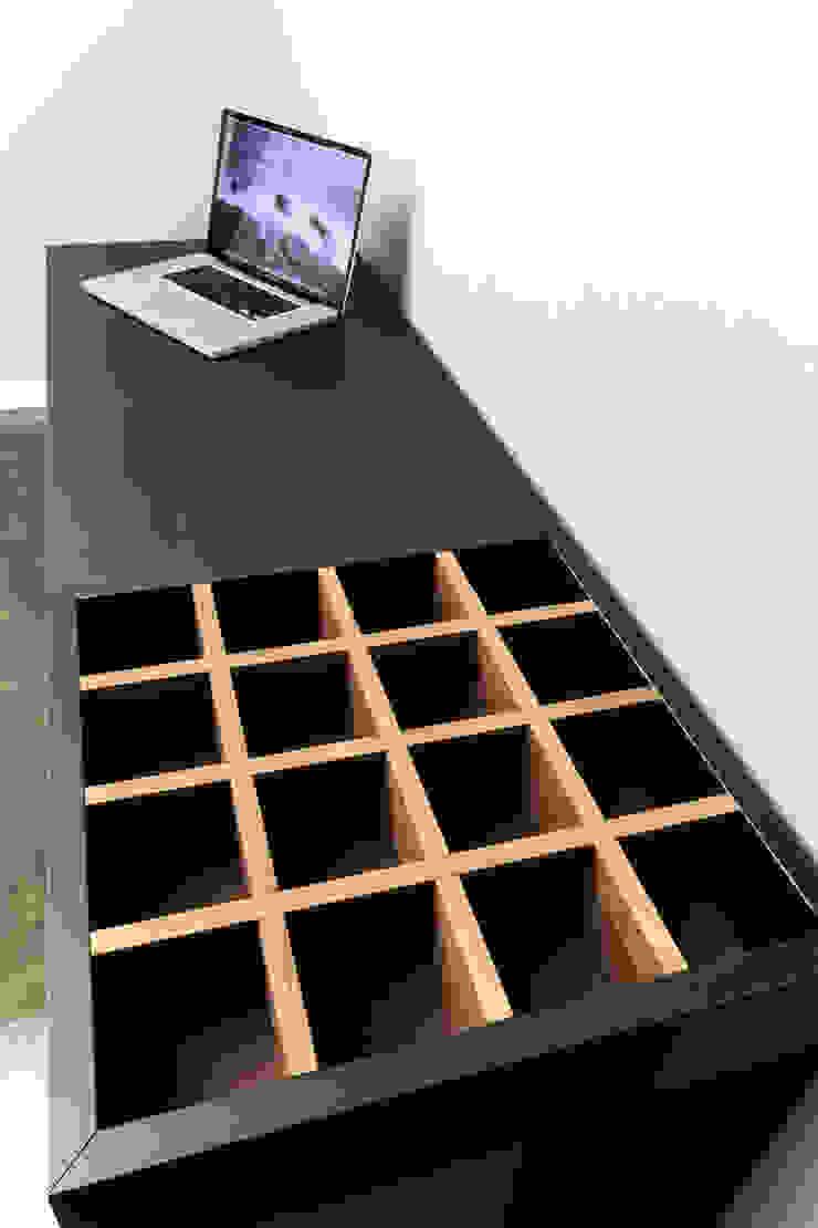 갤러리하우스: 디자인사무실의 현대 ,모던 솔리드 우드 멀티 컬러