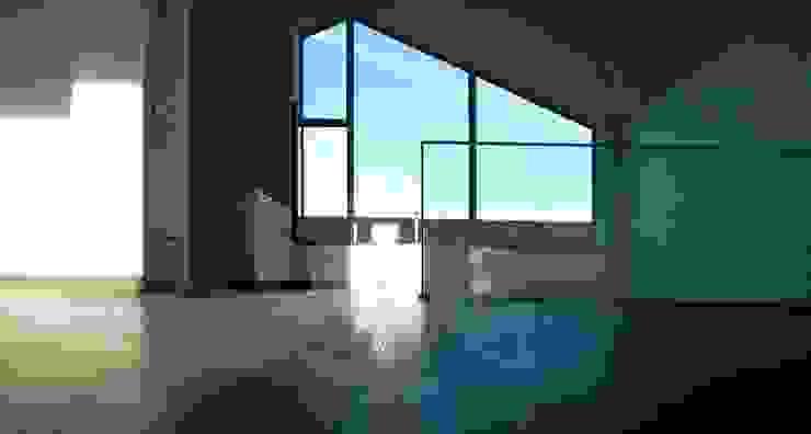 Bocetto Interiorismo y Construcción Balcones y terrazas de estilo moderno