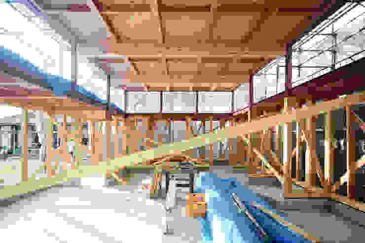 建設中写真 オリジナルな 家 の 後藤周平建築設計事務所 オリジナル 金属