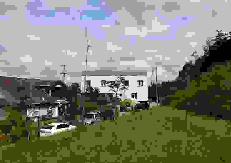yj house 모던스타일 주택 by IDÉEAA _ 이데아키텍츠 모던