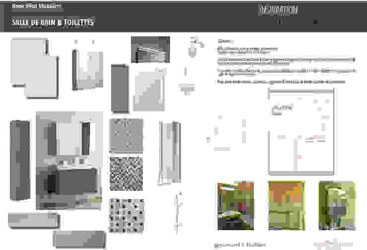 Book déco appartement Courbevoie par Nuance d'intérieur Moderne