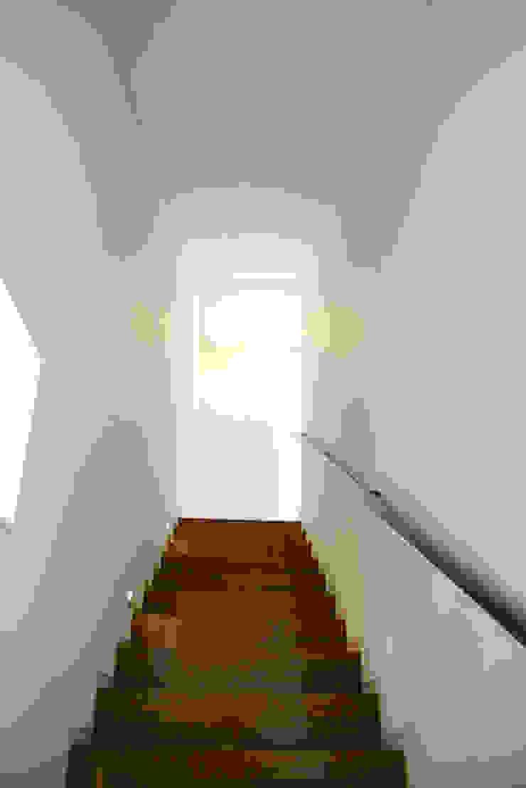 Modern Corridor, Hallway and Staircase by IDÉEAA _ 이데아키텍츠 Modern