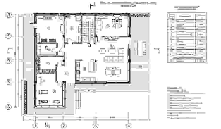 Casas de estilo  de Sboev3_Architect, Moderno