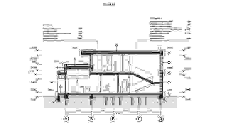 Il'dar-house Дома в стиле модерн от Sboev3_Architect Модерн