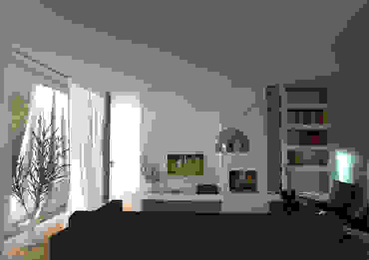 woning lent Moderne woonkamers van loko architecten Modern