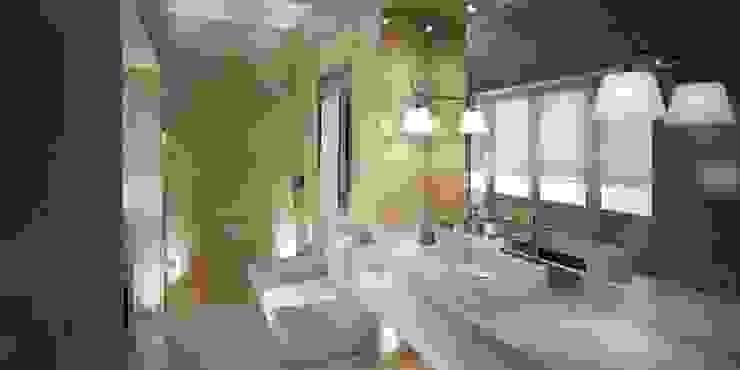 Moradia Sintra MRS - Interior Design Casas de banho modernas Bege