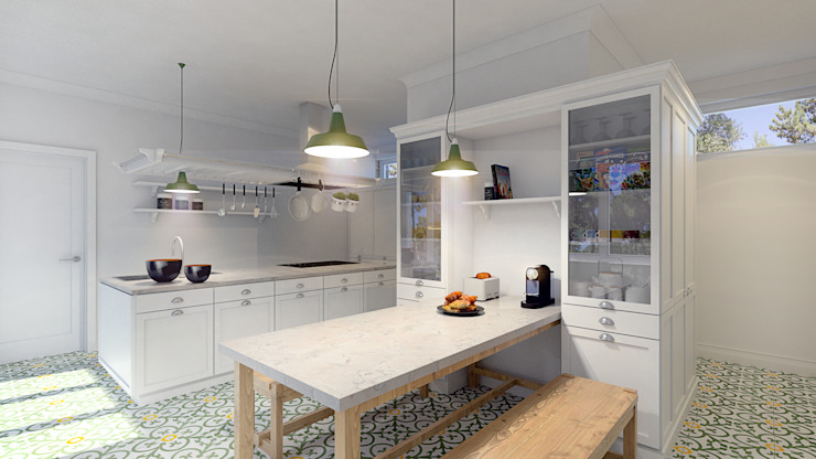 Dapur oleh MRS - Interior Design , Country