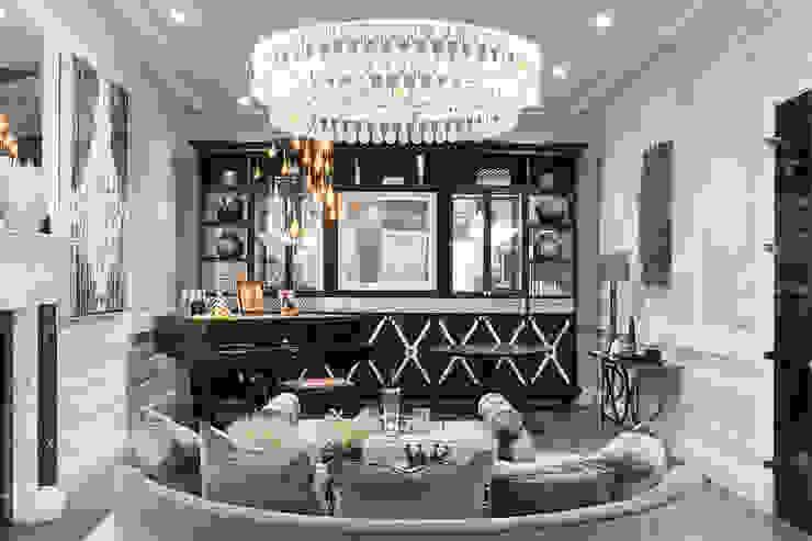Living Room Salas de estar modernas por Amina Moderno