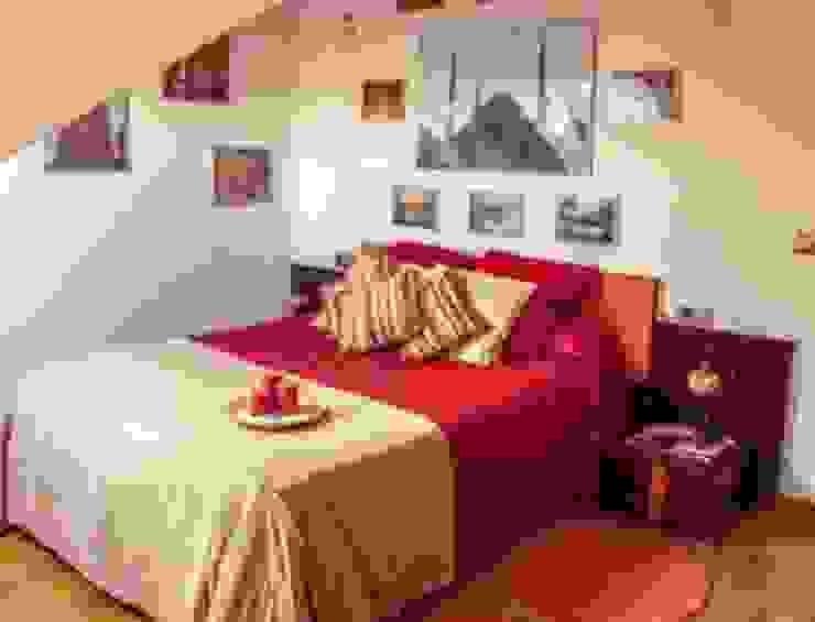 Ático 45 m² Dormitorios de estilo clásico de Karol Pidal Clásico