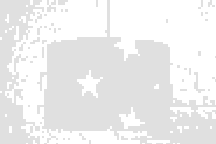 Lampa sufitowa gwiazdy na miętowym od youngDECO Skandynawski Bawełna Czerwony