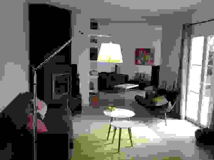Le nouvel espace salon/salle à manger Salon moderne par Atelier[21] Moderne