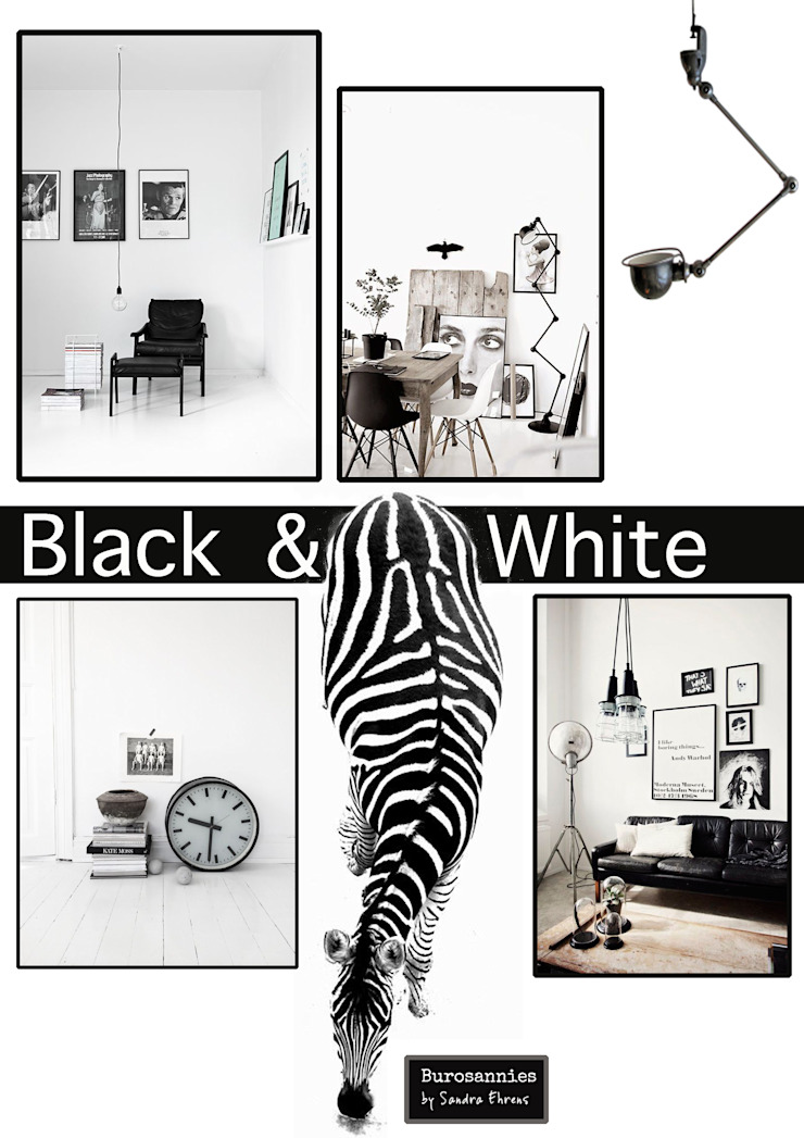 Moodboard Black & White van Burosannies