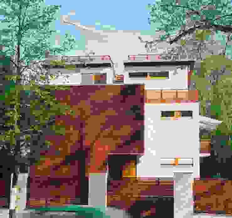 Neubau einer Stadtvilla, Berlin Grunewald Moderne Häuser von WAF Architekten Modern