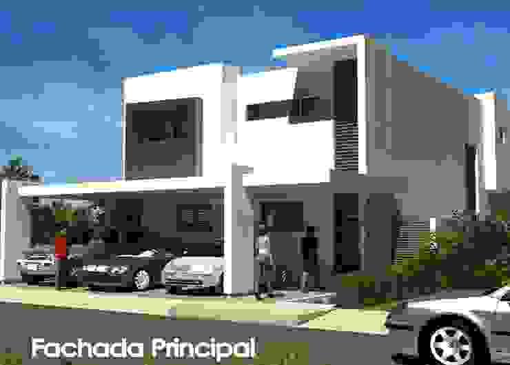 FACHADA PRINCIPAL de villarreal arquitectos y urbanistas asociados sc
