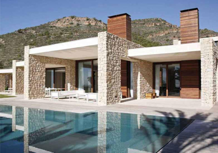 Arte Pietra Modern walls & floors Stone White