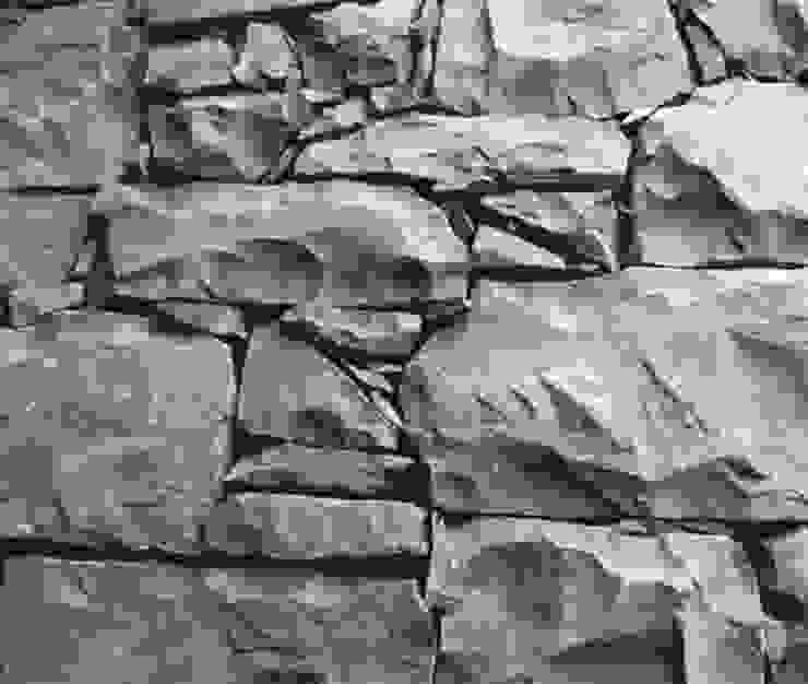 Paredes y pisos modernos de Arte Pietra Moderno Piedra