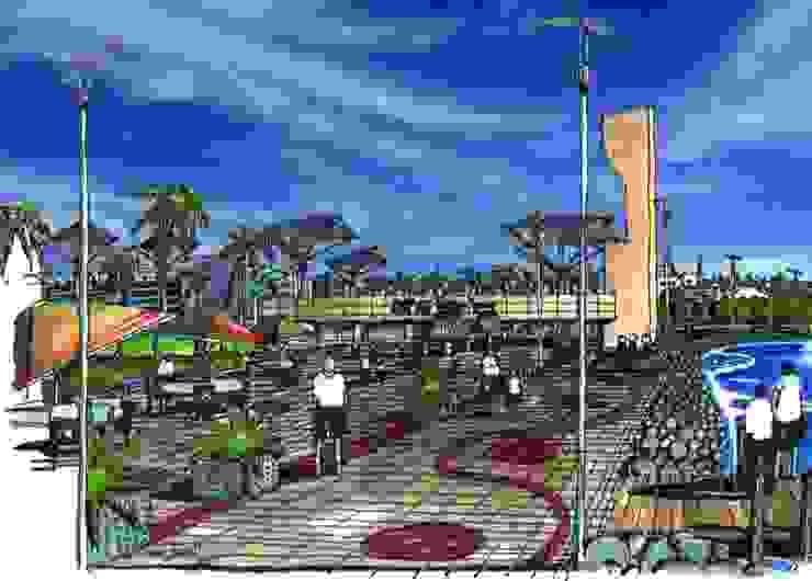 MALECON CANCUN de villarreal arquitectos y urbanistas asociados sc