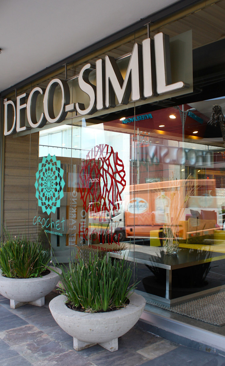 Decosimil Interlomas- Boue Arquitectos Espacios comerciales de estilo moderno de Boué Arquitectos Moderno