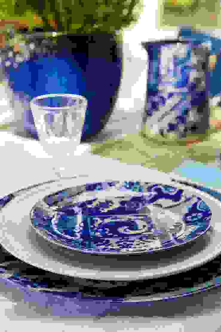 Set de mesa das colecções Lisboa e Friso da Costa Nova por Grestel, SA Moderno Cerâmica
