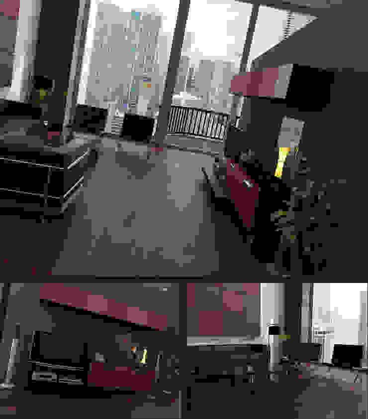 Apartamento Nova York Salas de estar clássicas por 3D-Hiper-Realismo- Clássico