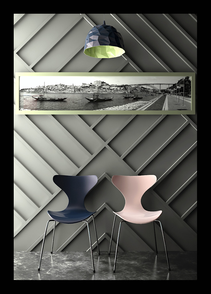 Tweens Corredores, halls e escadas clássicos por 3D-Hiper-Realismo- Clássico