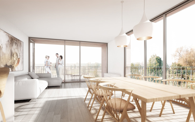 Housing Project in Steyr, Austria. por Rosario Badessa