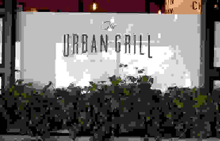 Restaurante Urban Grill Gastronomía de estilo moderno de Boué Arquitectos Moderno
