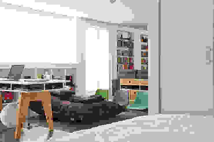 Apartamento Sabana Grande Salones de estilo minimalista de PUNCH TAD Minimalista