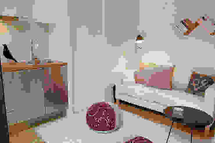 Salas / recibidores de estilo  por Plano Humano Arquitectos