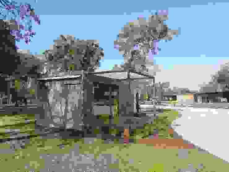Vista Exterior Casas minimalistas por Plano Humano Arquitectos Minimalista