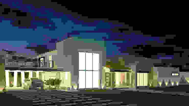 โดย Jeost Arquitectura ชนบทฝรั่ง หิน