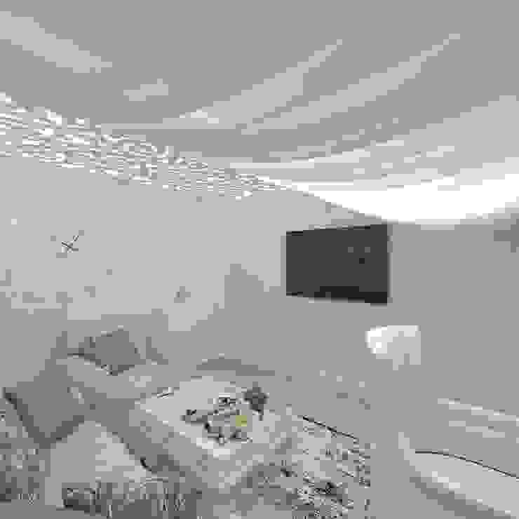 Дизайн кабинета Рабочий кабинет в стиле модерн от Студия дизайна интерьера Руслана и Марии Грин Модерн