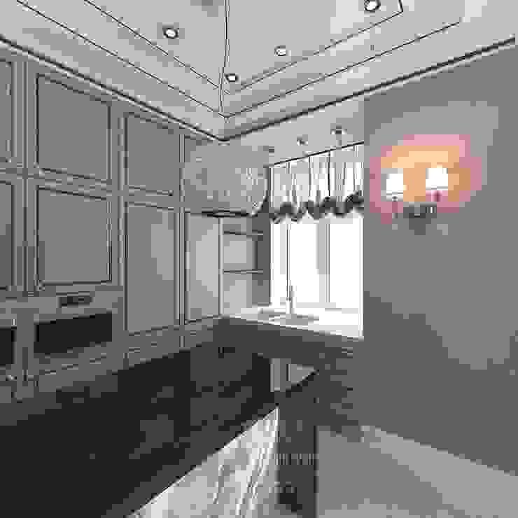 Дизайн кухни Кухня в стиле модерн от Студия дизайна интерьера Руслана и Марии Грин Модерн