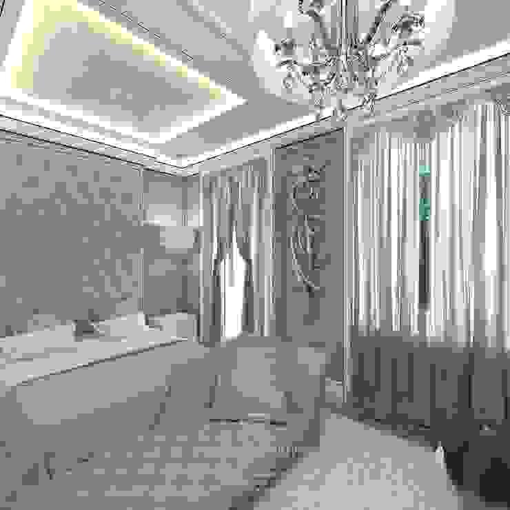 Дизайн спальни Спальня в стиле модерн от Студия дизайна интерьера Руслана и Марии Грин Модерн
