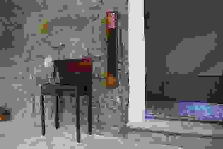 Piso 0 - Recepção Corredores, halls e escadas ecléticos por Teresa Pinto Ribeiro   Arquitectura & Interiores Eclético
