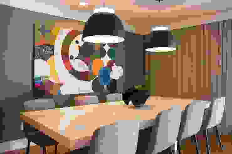 Jantar 2 Salas de jantar modernas por MONICA SPADA DURANTE ARQUITETURA Moderno