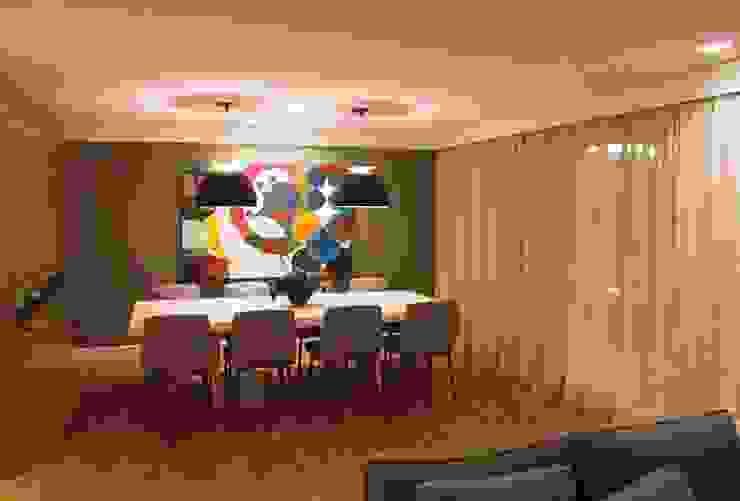 Jantar 1 MONICA SPADA DURANTE ARQUITETURA Salas de jantar modernas