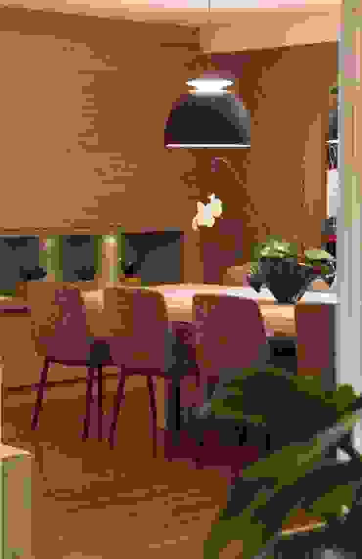 Jantar 3 MONICA SPADA DURANTE ARQUITETURA Salas de jantar modernas