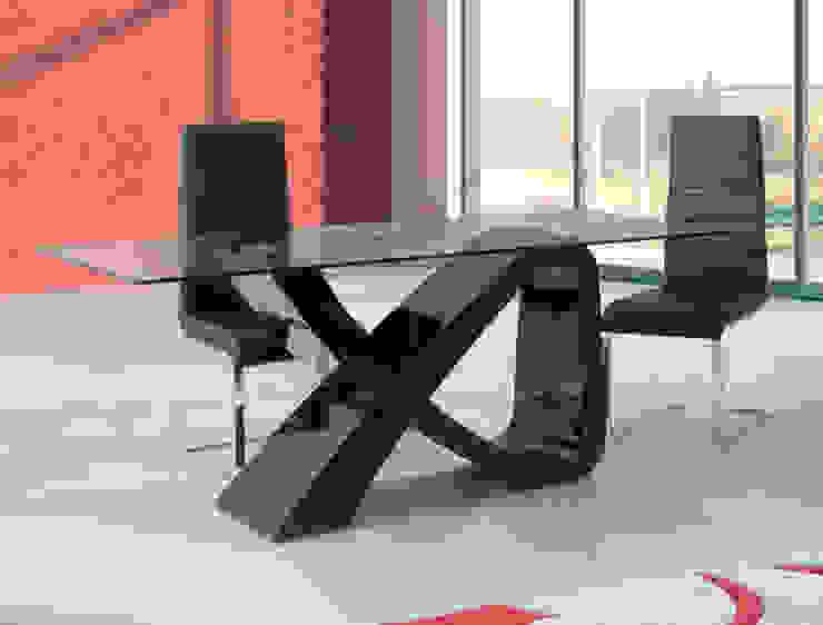 Mesas com tampo de vidro por relax mobiliário e decoração Moderno Vidro
